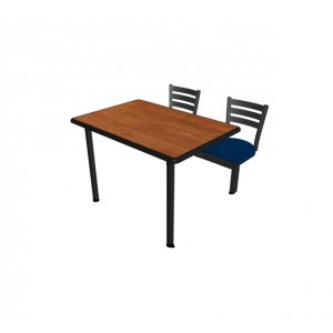 Jupiter 2 Seat ADA Unit with Dur-A-Edge® Table & Quest Chairheads