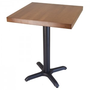 Wide Edge beech table with Fawn Stain